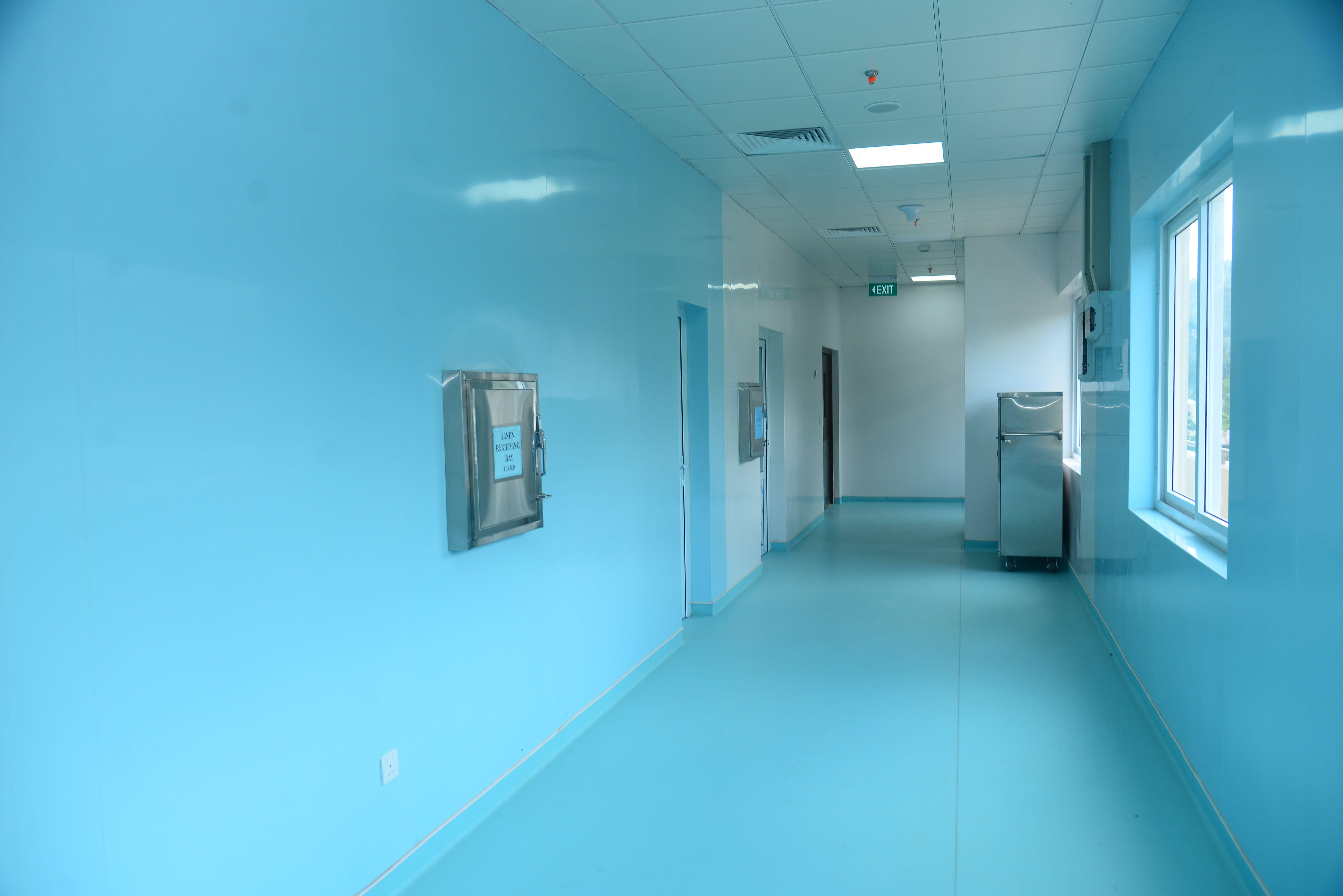 Asiri Hospital Corridor