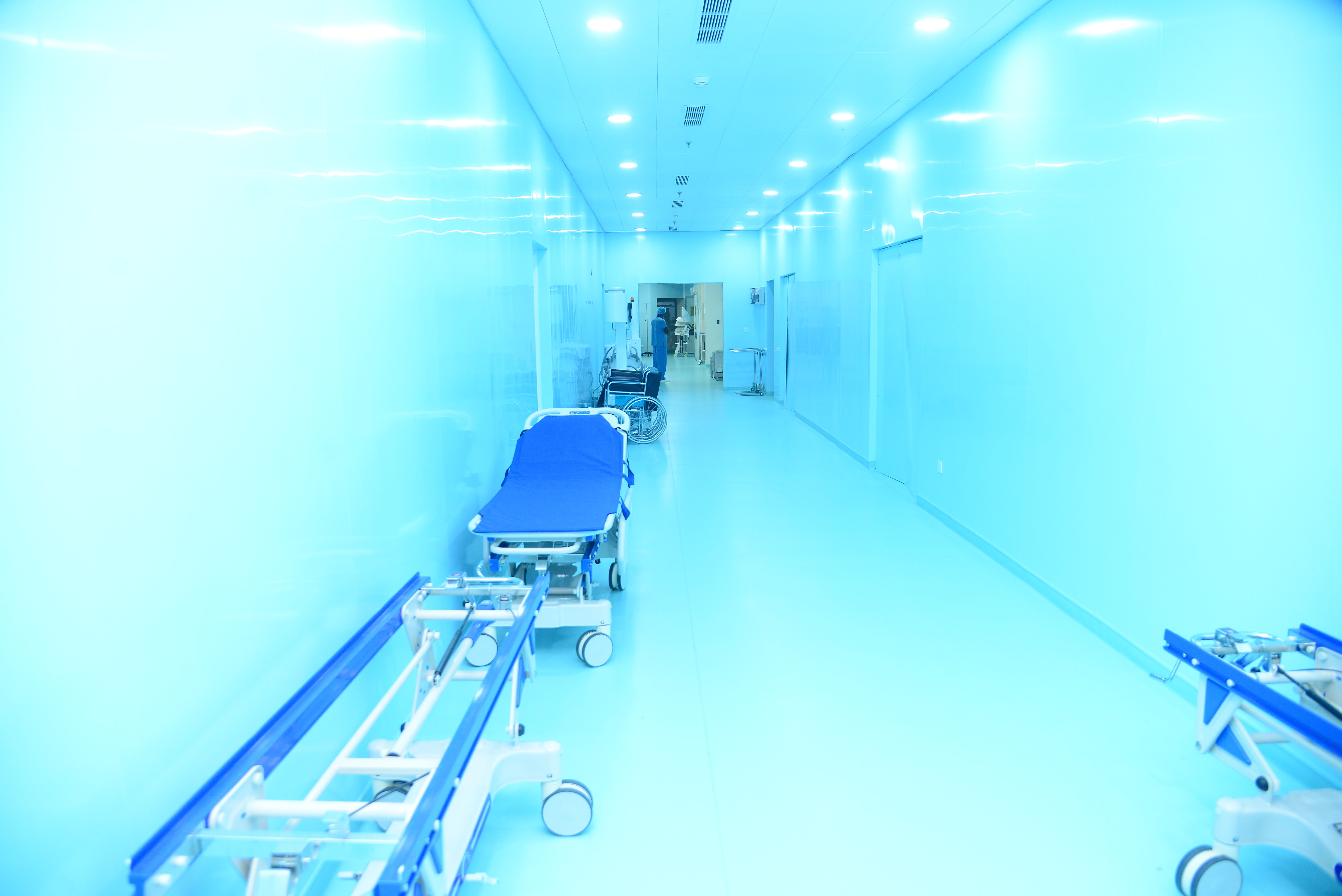 Asiri Hospital Ward Corridor