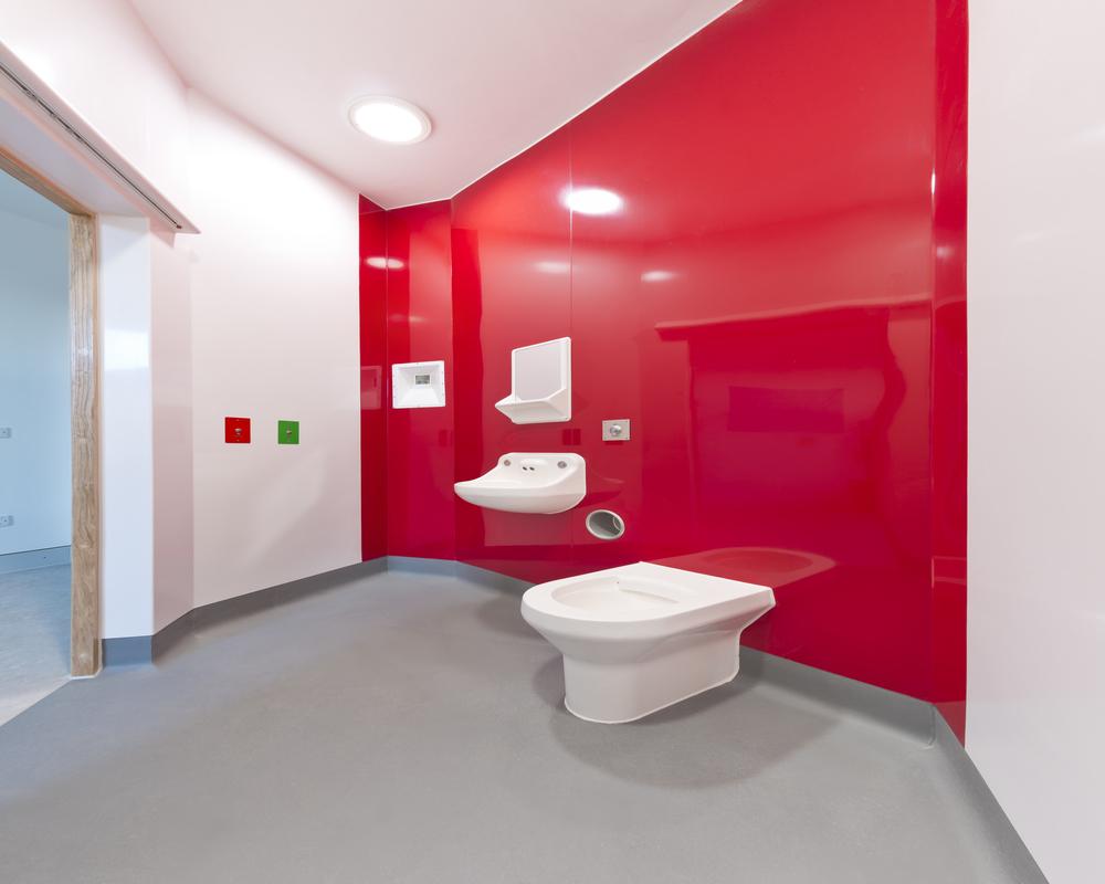 BioClad Vivid Red installation