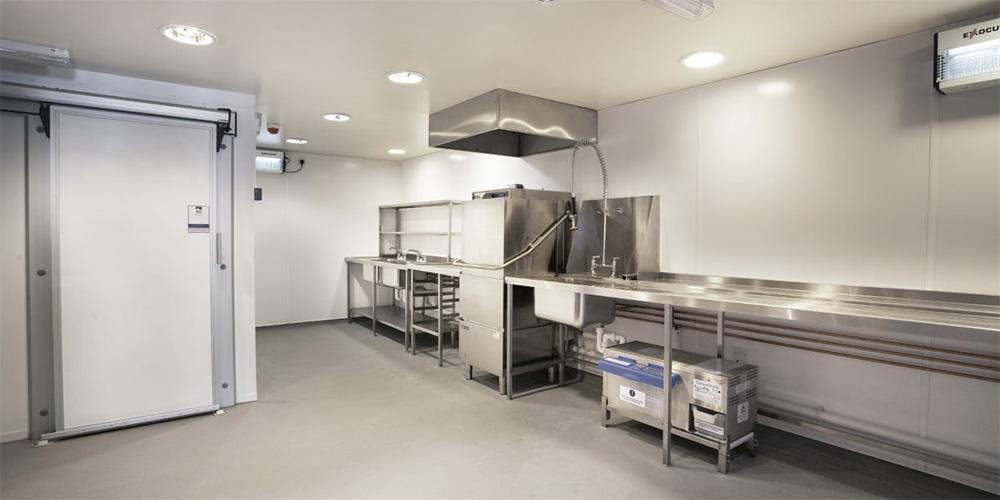 Loch Fyne kitchen