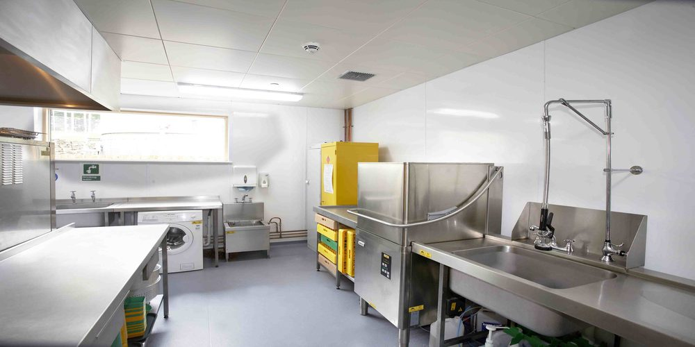 hygienic cladding kitchen