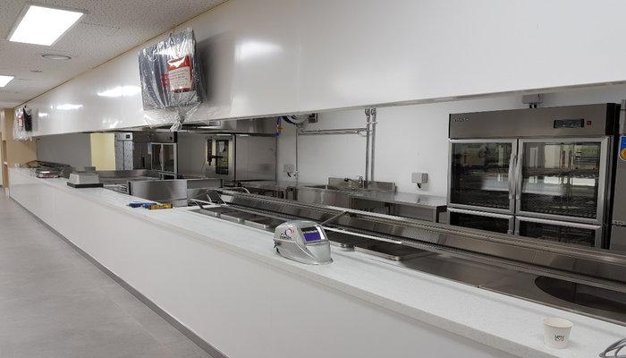 South Korea Hospital Cafeteria