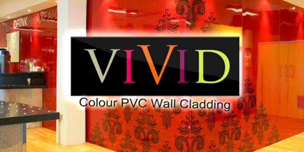 The Vivid Colour Range of hygienic wall cladding
